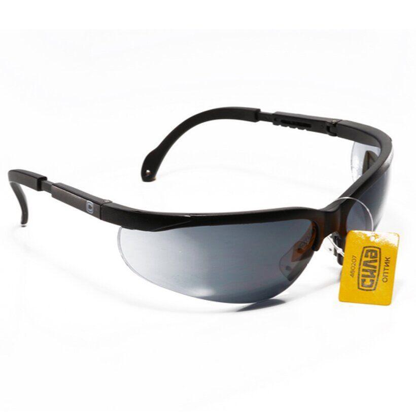 Очки защитные ОПТИК (затемненные) | СИЛА 480207