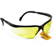 Очки защитные ОПТИК (янтарные)   СИЛА 480206