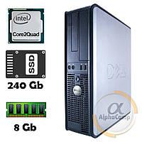 Компьютер Dell 380 (Core2Quad Q9300/8Gb/ssd 240Gb) БУ, фото 1