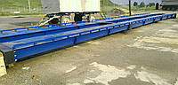 Бесфундаментные автомобильные весы - 12 м , на 40 тонн( металлическая платформа)