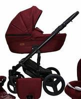 Детская универсальная коляска 2в1 Mikrus Genua 13 (Бордо)