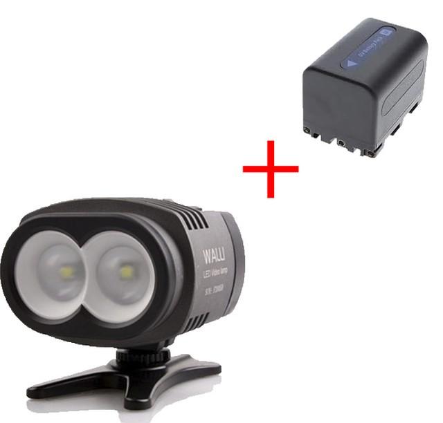 Cветодиодный накамерный видео свет Walli 2X + комплект (2X)