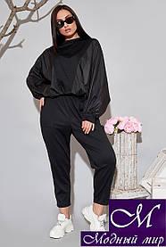 Женский прогулочный костюм большого размера (р. 50-52, 54-56) арт. 34-612
