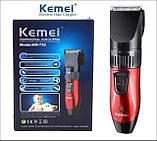 Электрическая машинка, триммер, для стрижки Kemei KM-730 (KM730), фото 10