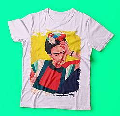 Футболка с печатью Frida