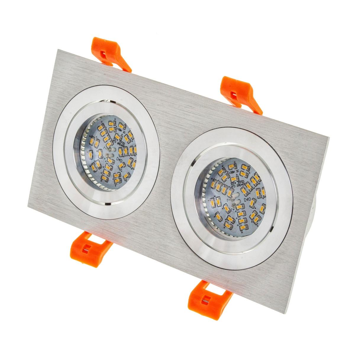 HDL-DT 109/2 MR16 SL встроенный светильник поворотный