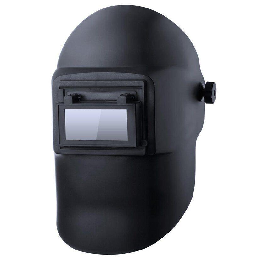 Маска сварочная (щиток) откидная Ягуар с наголовником от маски Хамелеон | VTR (Украина) ZM-0009