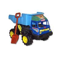 Игрушка для детей автомобиль Kinderway 08-803 DAF + песочный набор лопатка и грабельки