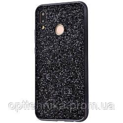 Shining Corners With Sparkles Huawei P20 Lite black