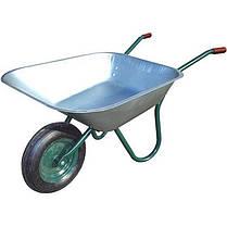 31245 Тачка садовая 1-но колёсная FORTE 120кг./142л. (WB6407A)