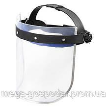 Щиток-маска прозрачный,защита лица,щиток лицевой