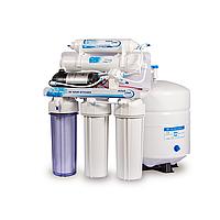 Бытовой фильтр обратного осмоса Aqualine RO-5 P МТ18 (с помпой)