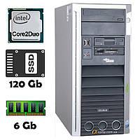 Компьютер Fujitsu W360 (Core2Duo E8200/6Gb/ssd 120Gb) БУ, фото 1