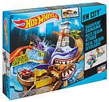 Трек Хот Вілс Атака Акули, Hot Wheels Color Shіfters Sharkport Showdown Trackset., фото 3