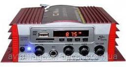Усилитель звука CM-2046U(медиаплеером и FM тюнером/USb/SD/220V или 12V 5A