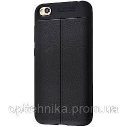 Ultimate Experience Leather (TPU) Samsung Galaxy A20/A30 (A205F/A305F) black