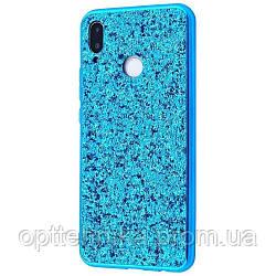 Shining Corners With Sparkles Samsung Galaxy M20 (M205F) blue