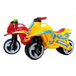 Беговел детский мото-байк Kinderway KW-11-006 КР пластик