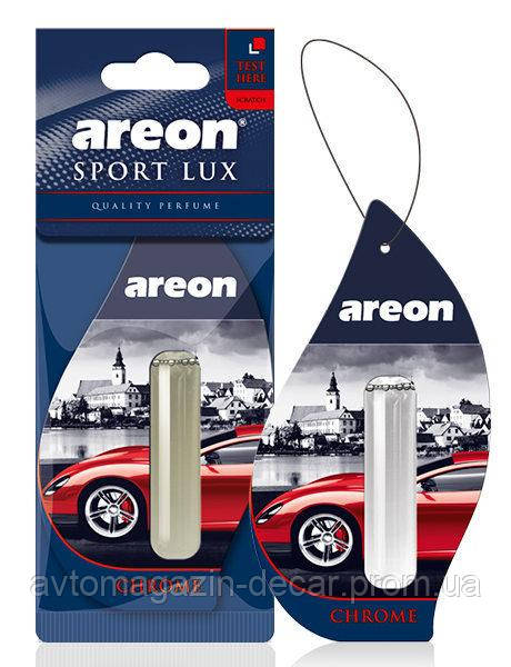 "Освеж.жидк 5ml - ""Areon"" - Sport LUX - Chrome (Хром) (24шт/уп)"