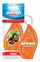 """Освеж.сухой листик - """"Areon"""" - Classic - Coconut (Кокос) (10шт/уп)"""