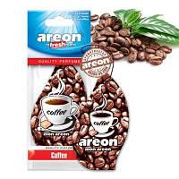 "Освеж.сухой листик - ""Areon"" - Classic - Coffee (Кофе) (10шт/уп)"