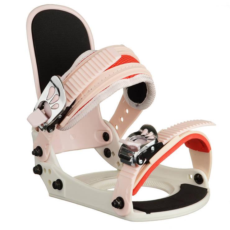 Кріплення для сноуборду дитяче Spice Snowboards S/M White, фото 2