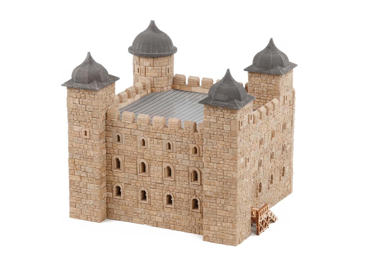 Лондонский Тауер керамический конструктор | 1400 деталей | Країна замків та фортець (Україна)