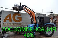 Погрузчик КУН на МТЗ тракторный фронтальный быстросъёмный НТ-1200 АГРИС с ковшом 0,8