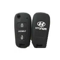 Чехол на пульт сигнализации силиконовый Hyundai 1002  (2307)