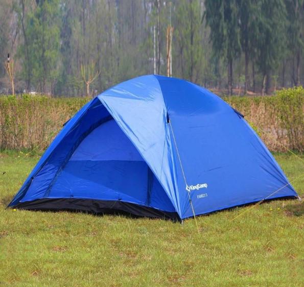 Палатка трехместная KingCamp Family 3 (KT3073)