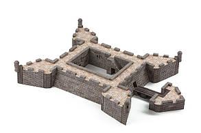 Форт Кастельо де Сан-Маркос | Конструктор з міні-цеглинок |1450 деталей | Країна замків та фортець