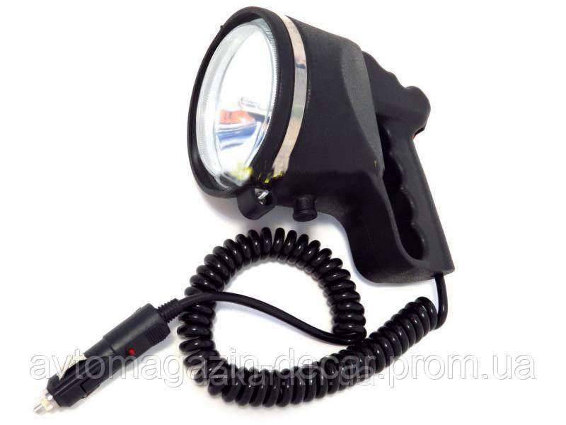 """Фароискатель Xenon 12V 55W  """"CH 005"""" корпус резина - черный - влагозащита - в прикурку   2686"""