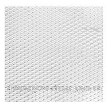 Сетка декоративная №3 100х20см хром (Elegant)  в упаковке  512023   (50шт/уп)