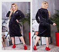 Спортивные платья больших размеров оптом. Черные платья Plus Size