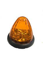 Габарит  конусный - оранжевый  - 24V  Led 16  диодный - №0 (1шт)