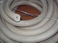 Трубки резиновые силиконовые внутренний d от 3 до 45 мм.