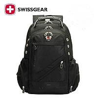 Рюкзак Городской Swissgear 8810 + дождевик(выход USB +AUX)