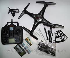Квадрокоптер X5SW-1 камера Wi-Fi АКБ 3,7V 500 mAh R(действия)=100м запасные лопасти