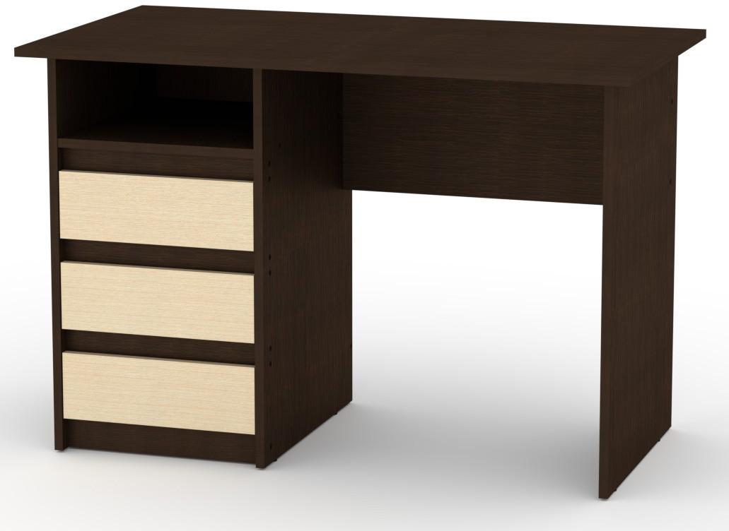 Стол письменный Декан-1 Венге комби КОМПАНИТ (110х60х73.6 см)