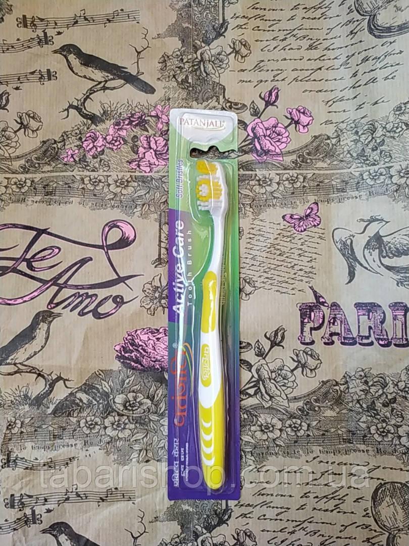 Зубная щётка Активная защита Патанджали,  Patanjali Active Care Toothbrush, 1 шт