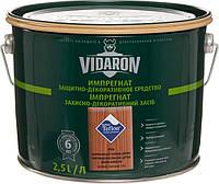 Защитно-декоративная пропитка VIDARON Impregnat V06 Американское красное дерево 2,5л