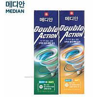 Зубная паста против кариеса Median Double Action 130 гр