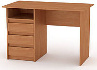 Стол письменный Декан-1 Ольха КОМПАНИТ (110х60х73.6 см), фото 1