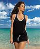 Красивое пляжное платье M 313 ELSA (S-L в расцветках), фото 2