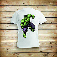 Футболка с печатью Hulk