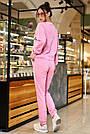 Спортивный костюм женский розовый, двунитка, фото 4