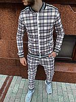 Стильный костюм ''Шотландец'', весенний спортивный костюм мужской