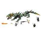 Конструктор Ниндзяго Bela 10718 Ninjago Movie Механический Дракон Зелёного Ниндзя 573 дет, фото 4