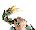 Конструктор Ниндзяго Bela 10718 Ninjago Movie Механический Дракон Зелёного Ниндзя 573 дет, фото 6