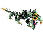 Конструктор Ниндзяго Bela 10718 Ninjago Movie Механический Дракон Зелёного Ниндзя 573 дет, фото 7